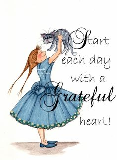 ❥ Give thanks with a grateful heart