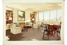 Office Presentation - Watercolor