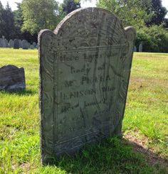 Peter Jenison buried in Wayland, Massachusetts -- Tombstone Tuesday #genealogy #familyhistory