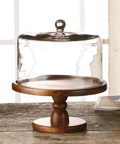Madera Pedestal Plate & Dome