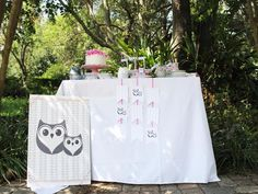 Owl Always Love You themed bridal shower