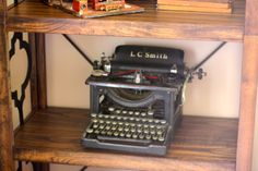 My #vintage typewriter from #Goodwill $14.99 #thrift #decor Purchased from Goodwill Industries of San Diego.  @Goodwill Industries of San Diego County