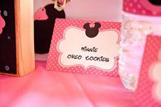 """Minnie"" Oreo Cookies"
