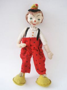 Vintage Collectible Clown Made in Japan. $36.00, via Etsy.