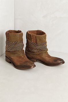 fashion, anthropology, style, chain mail, anthropologie, boho, brown boots, chainmail boot, shoe