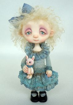 original art doll by Anna Salvador