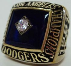 Los Angeles Dodgers 1981 World Series Ring