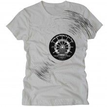 // Ladies A1A Livin and Dyin In 3/4 Time Tee - Light Gray