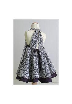 Robe d'été de Grace, patron de couture facile de pdf et tutoriel, robe d'été, modèle de robe bébé fille, tailles 1y-7y