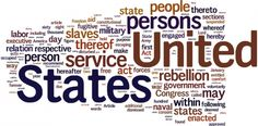 Emancipation Proclamation Wordle - Visual Aid | Edworld Exchange | Where Educators Buy and Sell Resources