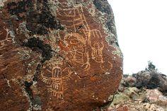 Petroglyphs, Dubois Wyoming