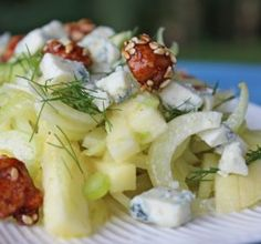 """Fennel & Apple Salad with Blue Cheese & Pecans: """"All the salad ingredients were like shining stars — no single flavor overwhelmed another."""" -Jostlori"""