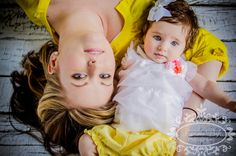 Mom and daughter photo shoot