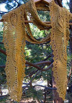 Lamina summer scarf.