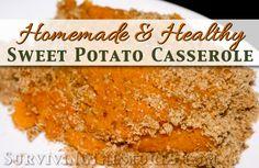potato casserol, sweet potato