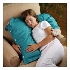 The Boyfriend Pillow... Perfect for people who are just like me.