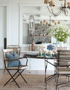 Décor de Provence: A Whitewashed California Beach House!