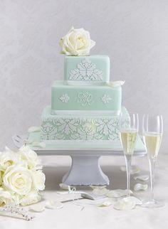 Mint wedding cake    Keywords: #mintweddings #jevelweddingplanning Follow Us: www.jevelweddingplanning.com  www.facebook.com/jevelweddingplanning/