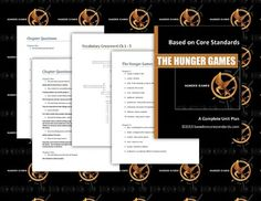 Hunger Games Lesson Plans - Unit Plan for Teaching The Hunger Games on TPT.