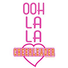 This BRAND NEW design is now available at #spiritaccessories! It's perfect for the cute and sassy #cheerleader! Get yours today! #cute #sassy #cheer #clothes #apparel #pink #heart #spirit #accessories