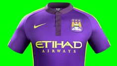 Nike Manchester City 14/15 Cup Kit