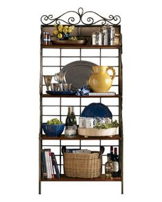 Bakers Rack - on the wishlist.  This one was by Pierre Deux.