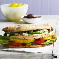 BHG's Newest Recipes:Greek Salad Club Recipe
