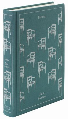 A beautiful collection of clothbound classics with vintage graphics but modern color palette ! Emma AUTHOR Jane Austen DESIGNER Coralie Bickford-Smith PUBLISHER Penguin Books.