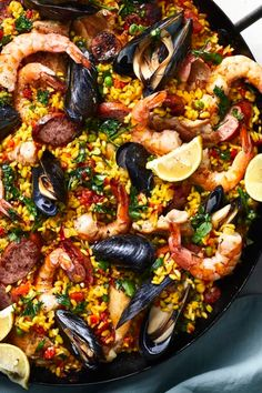 Nourishing, vibrant, and served without pretension, paella has held a place of honor and practicality in Spanish homes for centuries. #easy #easyrecipes #quickandeasy #easyrecipesideas #dinner #supper #easydinner #easydinnerideas #easysupper #easysupperideas