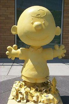 Butter sculptures on pinterest sculpture food sculpture for Iowa largest craft show