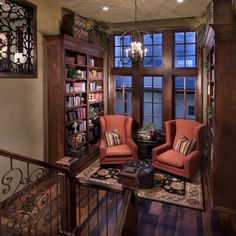 Wish List:  Reading nook/Library