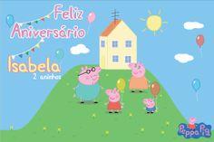 Backdrop Custom Peppa https://www.etsy.com/listing/163179195/peppa-pig-backdrop-digital-customizable?ref=related-0&ulsfg=true Painel Personalizado George e Peppa Pig http://www.elo7.com.br/bolleblu/peppa-pig/al/69099