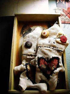 JunkerJanes voodoo dolls