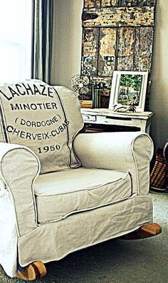 restoration hardware, rockers, grain sack, rocking chairs, parties, hous, mustard seeds, restorations, furniture