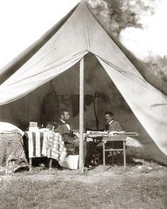 Lincoln and McClellan - Antietam