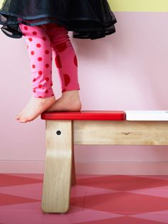 Ikea Balance Bench #Kids #Activity #Play