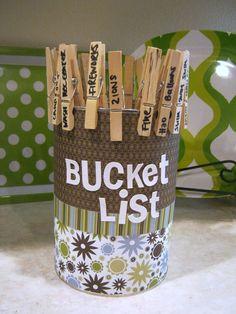 Summer Bucket Lists...