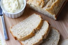 Coconut Bread with Pineapple Butter