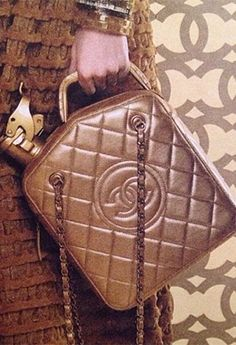A Bag Modeled After a Gas Can -because #dubai has oil? Get it now? #Chanel