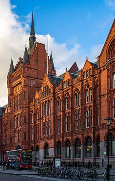 """The old Prudential Building - Holborn Circus, London. Fancy to #travel #London? Include this in your #bucketlist and visit """"City is Yours"""" http://www.cityisyours.com/explore to discover amazing bucket lists created by local experts. #local #restaurant #bar #hotel."""