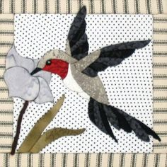 hummingbird quilt | hummingbird quilt board kit from artsi2 fun relaxing and rewarding ...