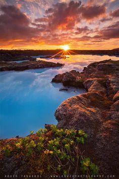 iceland, sunsets, sunris, blue lagoon, beauti