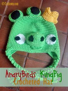 Modelo del ganchillo gratis - Angry Birds Gorra Rey Cerdo - Página 2