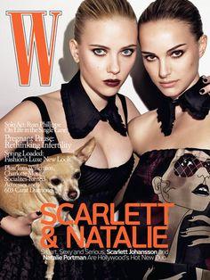 Scarlett & Natalie. W Magazine