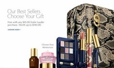 Free $140 Value Gift Set With Any $45 Purchase On Estee Lauder @ Lord & Taylor