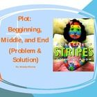 Common Core: Plot - A Bad Case of Stripes Power Point