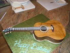 GORGEous Cakes by Kris: Acoustic Guitar Cake