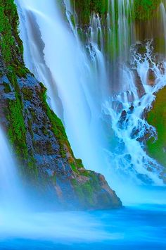 waterfall. #Beautiful #Places #Photography