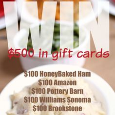 Honeybaked for Thanksgiving $500 Giveaway!  http://monicasrrr.blogspot.com/2014/11/honeybaked-for-thanksgiving-500-giveaway.html?utm_source=feedburner&utm_medium=email&utm_campaign=Feed%3A+MonicasRantsRavesReviews+%28Monica%26%2339%3Bs+Rants%2C+Raves+%26amp%3B+Reviews%29