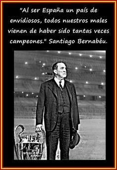 Santiago Bernabeu, máximo exponentedel madridismo